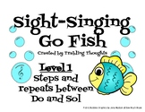Sight-Singing Go Fish - Level 1