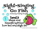 Sight-Singing Go Fish - Level 3