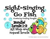 Sight-Singing Go Fish - Levels 1-3 Bundle