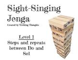 Sight-Singing Jenga