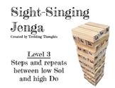 Sight-Singing Jenga - Level 3