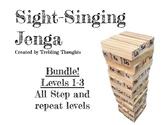 Sight-Singing Jenga - Levels 1-3 Bundle