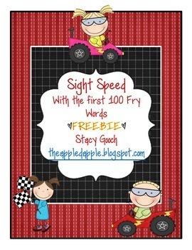 Sight Speed Freebie