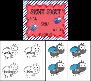 Sight Swat: 2nd Grade Dolch Words