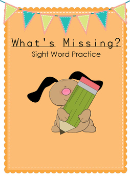 Sight (Tricky) Word Practice - What is missing?