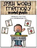 Sight Word 2nd grade Memory