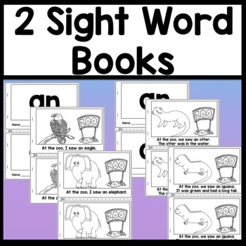 Sight Word AN {2 Sight Word Books and 4 Worksheets!}