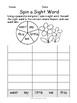 Spring Sight Word Activities - No prep!