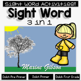 Sight Word 3 in 1