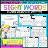 Sight Word Activities - Book 2