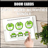 Sight Word Activities Bundle BOOM LEARNING CARDS Distance