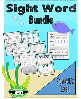 Sight Word Activity Bundle - Fry Word List 61 - 80