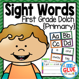 Sight Word Activities, Centers, and Word Wall: Dolch First