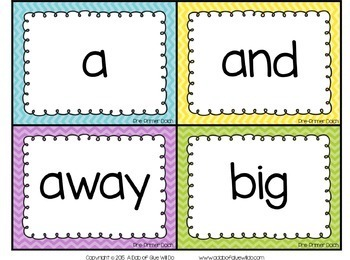 Sight Word Activities, Centers, and Word Wall: Dolch Mega Bundle {Brights}