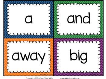 Sight Word Activities, Centers, and Word Wall: Dolch Pre-Primer {Primary}