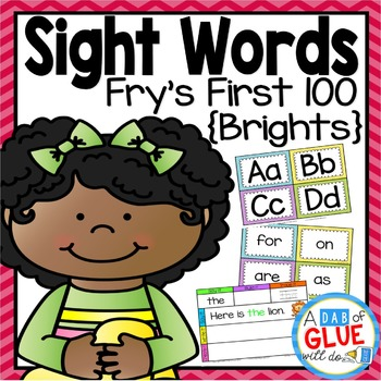 Sight Word Activities, Centers, and Word Wall: Fry's First