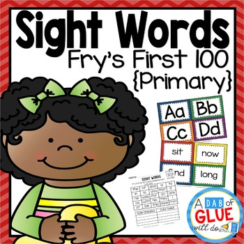 Sight Word Activities, Centers, and Word Wall: Fry's First 100 {Primary}