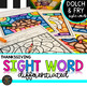 K-5th Sight Word Activities Thanksgiving Color by Code Differentiated November
