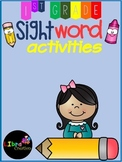 Sight Word Activities First Grade