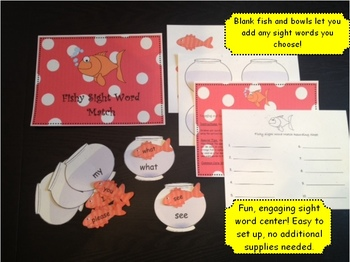 Sight Word Activities:  Fun Learning Games for Literacy Centers