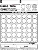 Sight Word Activities: Game Time Link 4 In a Row Sight Words First Grade