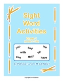Sight Word Activities Grade 1