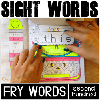 Sight Word Activities (Fry's 101-200 bundle)