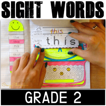 Sight Word Interactive Notebook (Grade 2)