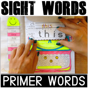 Sight Word Interactive Notebook (Primer)