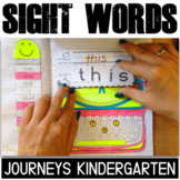 Journeys Kindergarten Sight Word Activities: Interactive Notebook