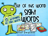 Sight Word Activities MEGA PACK {15 Activities and Centers}