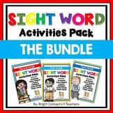 Sight Word Activities Pack- BUNDLE