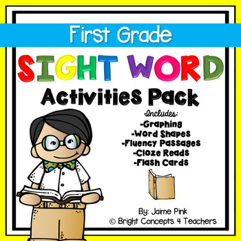 Sight Word Activities Pack- FIRST GRADE