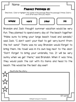 Sight Word Activities Pack- SECOND GRADE