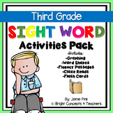 Sight Word Activities Pack- THIRD GRADE