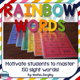 Sight Word Activities: Rainbow Words