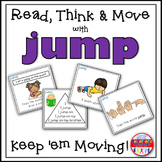 Sight Word Activities - Read Think and Move Task Cards for the Sight Word JUMP