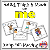 Sight Word Activities - Read Think and Move Task Cards for the Sight Word ME