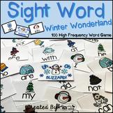 "Sight Word Activities ""Winter Wonderland"" - 100 Sight Word"