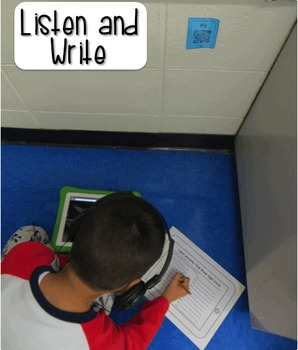 Sight Word Activities With Audio QR Codes {THE BUNDLE}