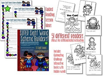 Sight Word Activities and Readers BUNDLE