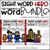 Sight Word Practice - Activities & Readers BUNDLE - High F