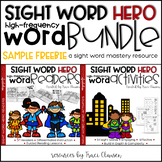Sight Word Practice - Activities & Readers Sample FREEBIE