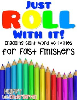 Sight Word Activities for Early Finishers