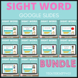 Sight Word Activities for Google Slides ™ Interactive Dist