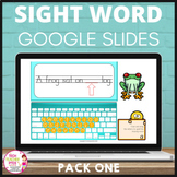 Sight Word Activities Google Slides ™  Pack One Interactiv