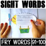 Sight Word Activities for Kindergarten Fry Words (91-100)