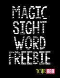 Sight Word Activities for Kindergarten and First Grade