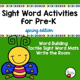 Sight Word Activities {Spring Edition}