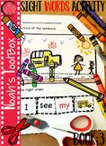 Sight Word Activity Book 3